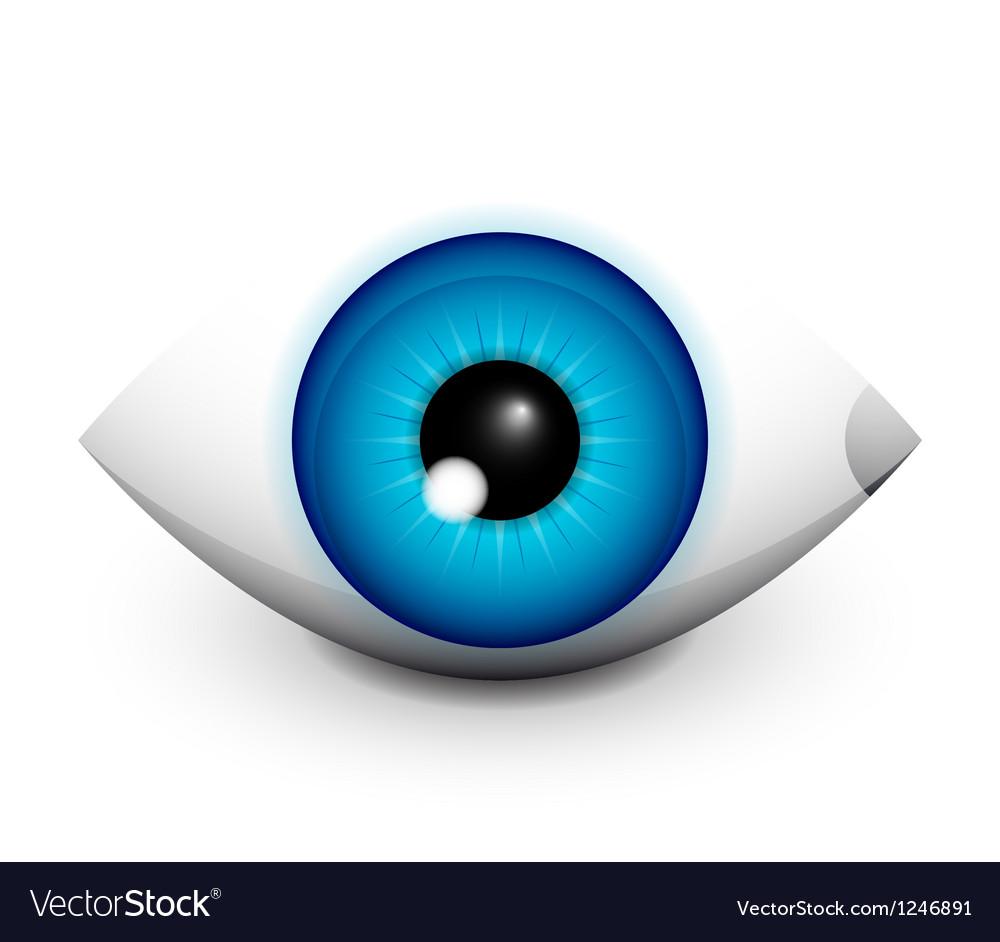 Hi-tech eye concept icon design vector