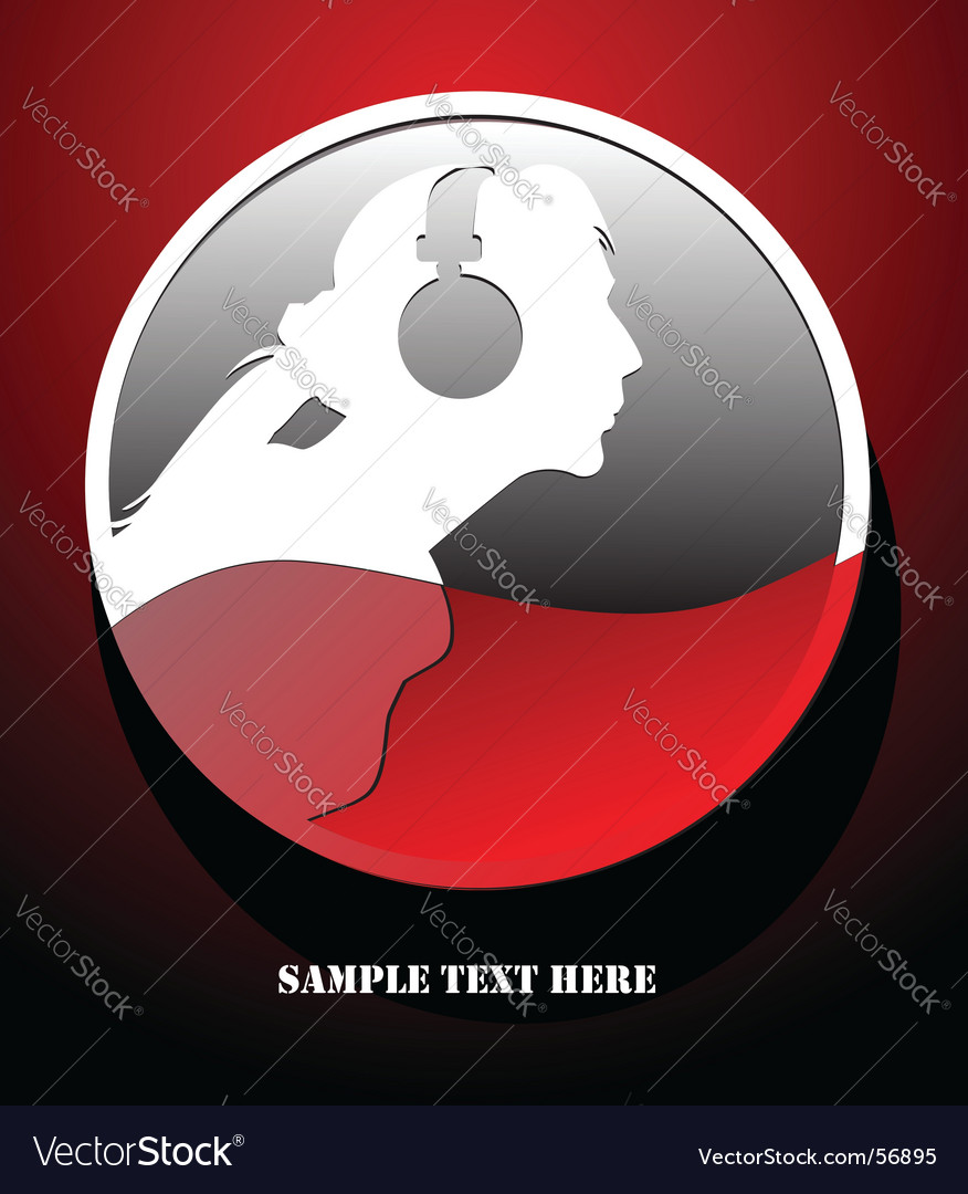 Musical theme graphic vector