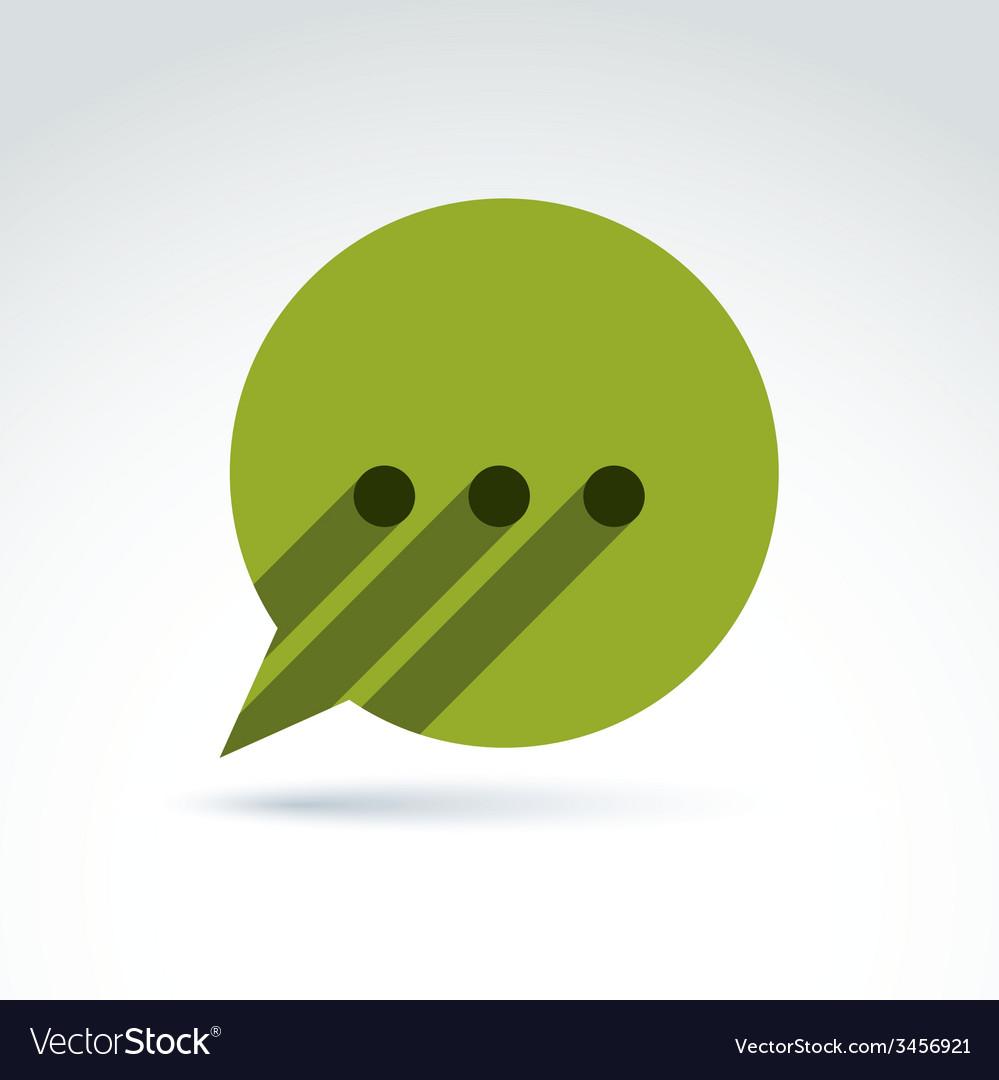 Ellipsis punctuation analyze and conversation vector