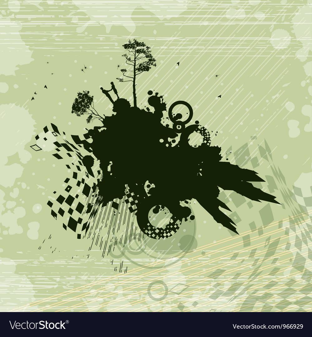 Romance fantasy concept background vector