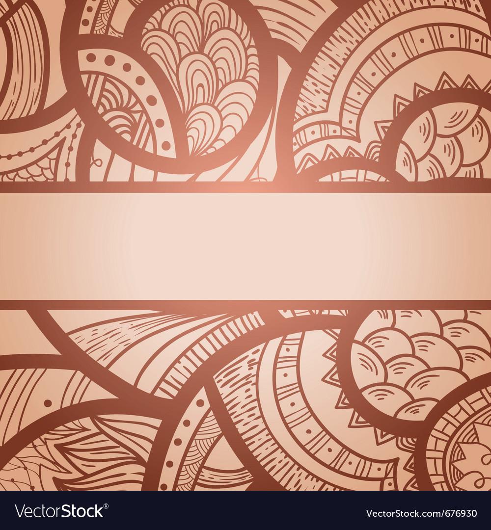 Elegant pattern vector