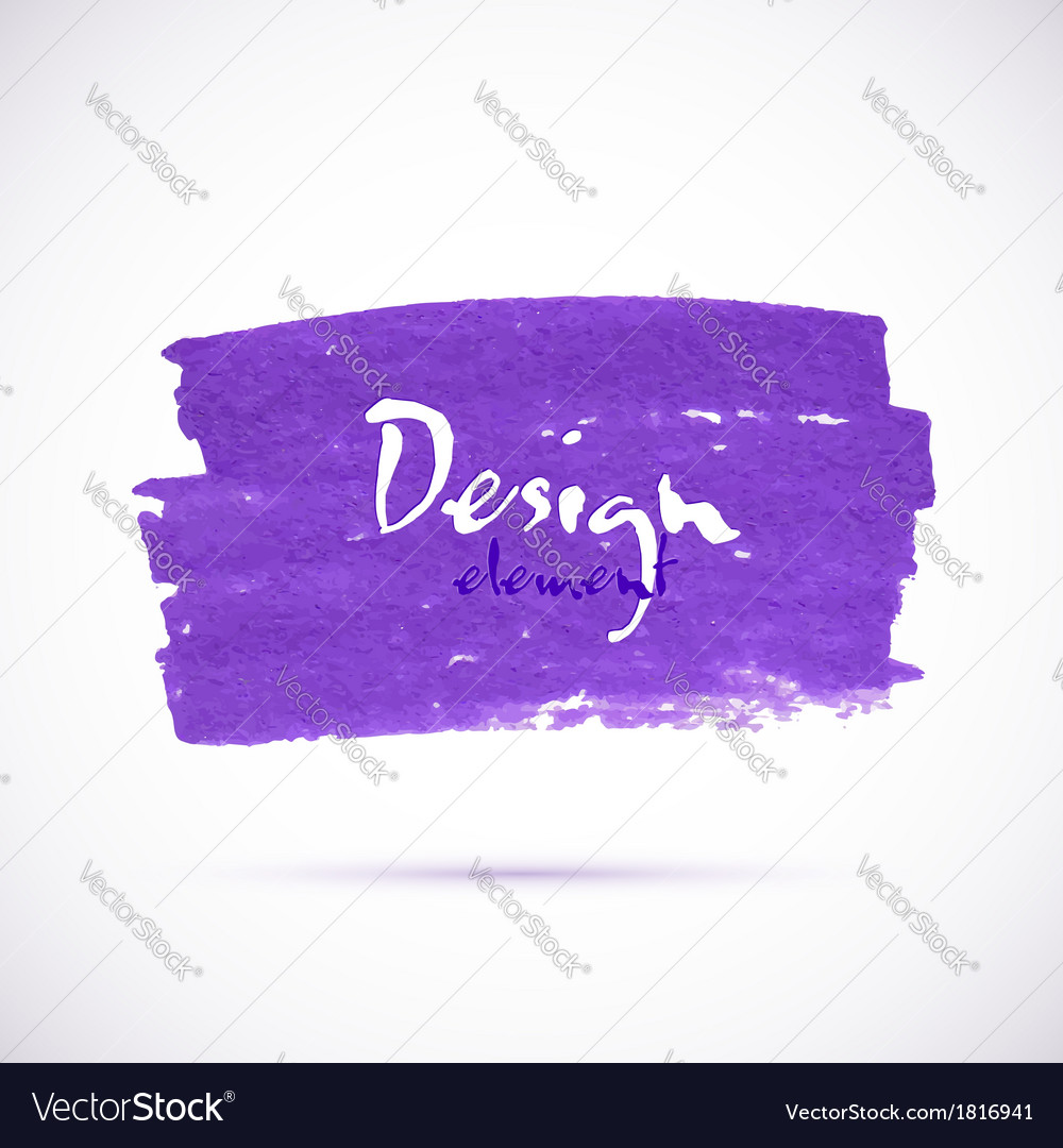 Violet marker texture stain vector