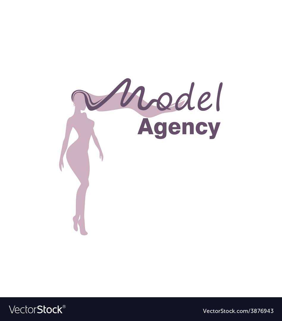 Model logo vector