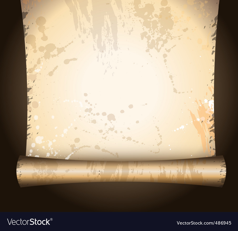 Antique parchment vector