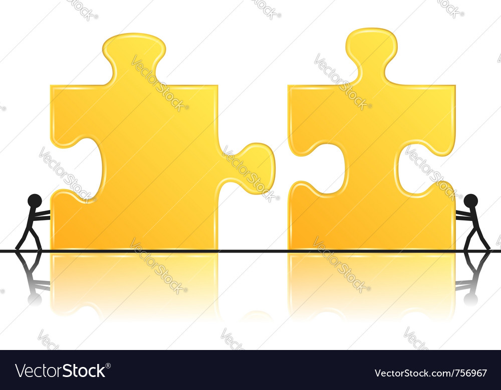 Teamwork concept vector