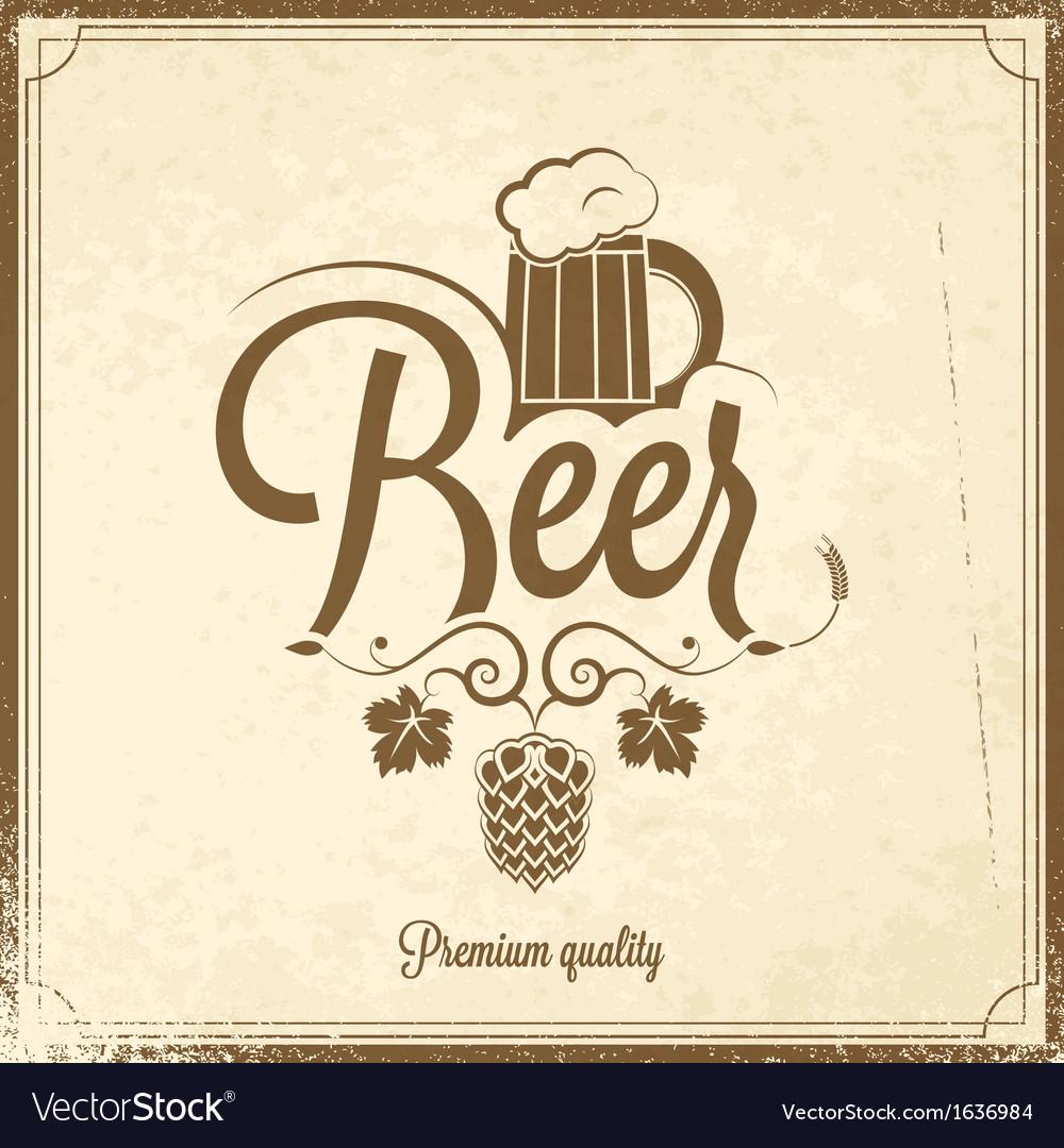 Beer-background-vector