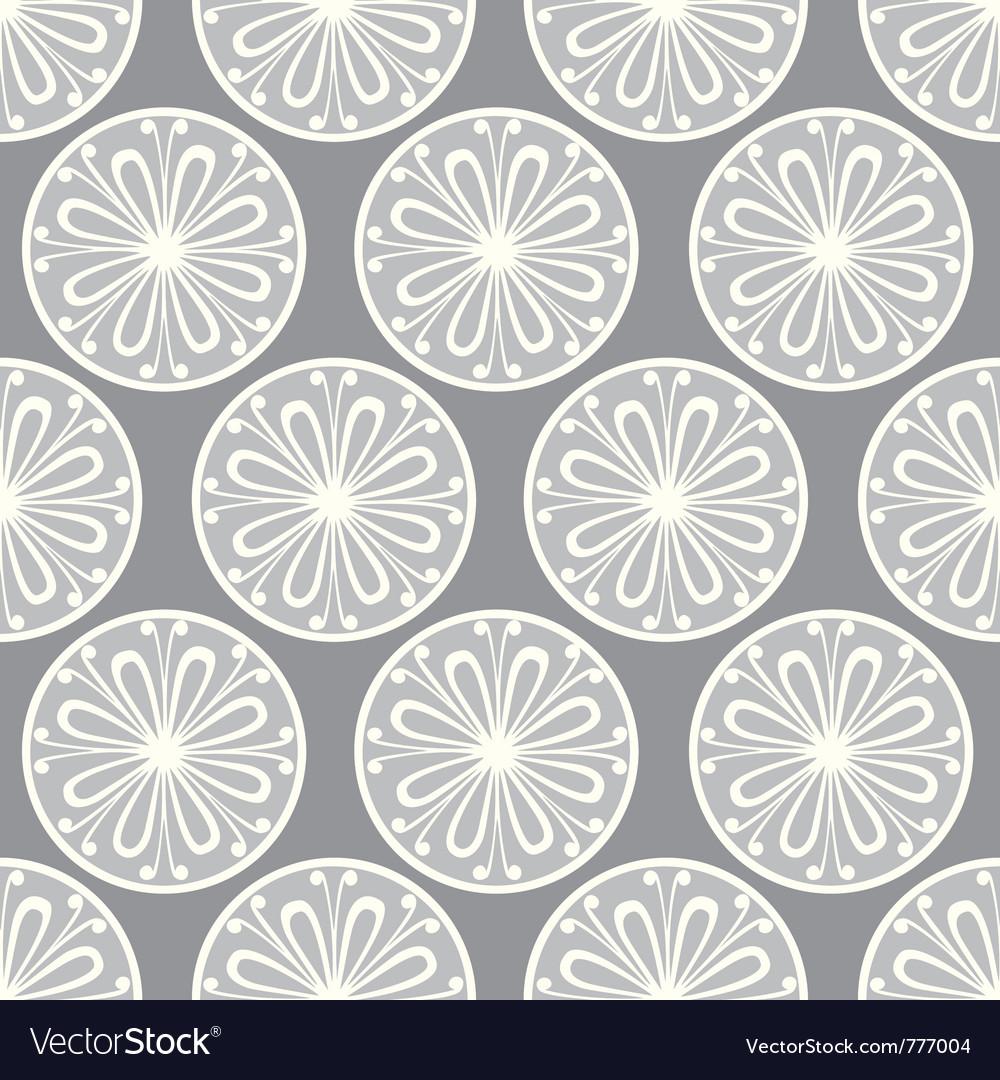 Seamless petal pattern vector