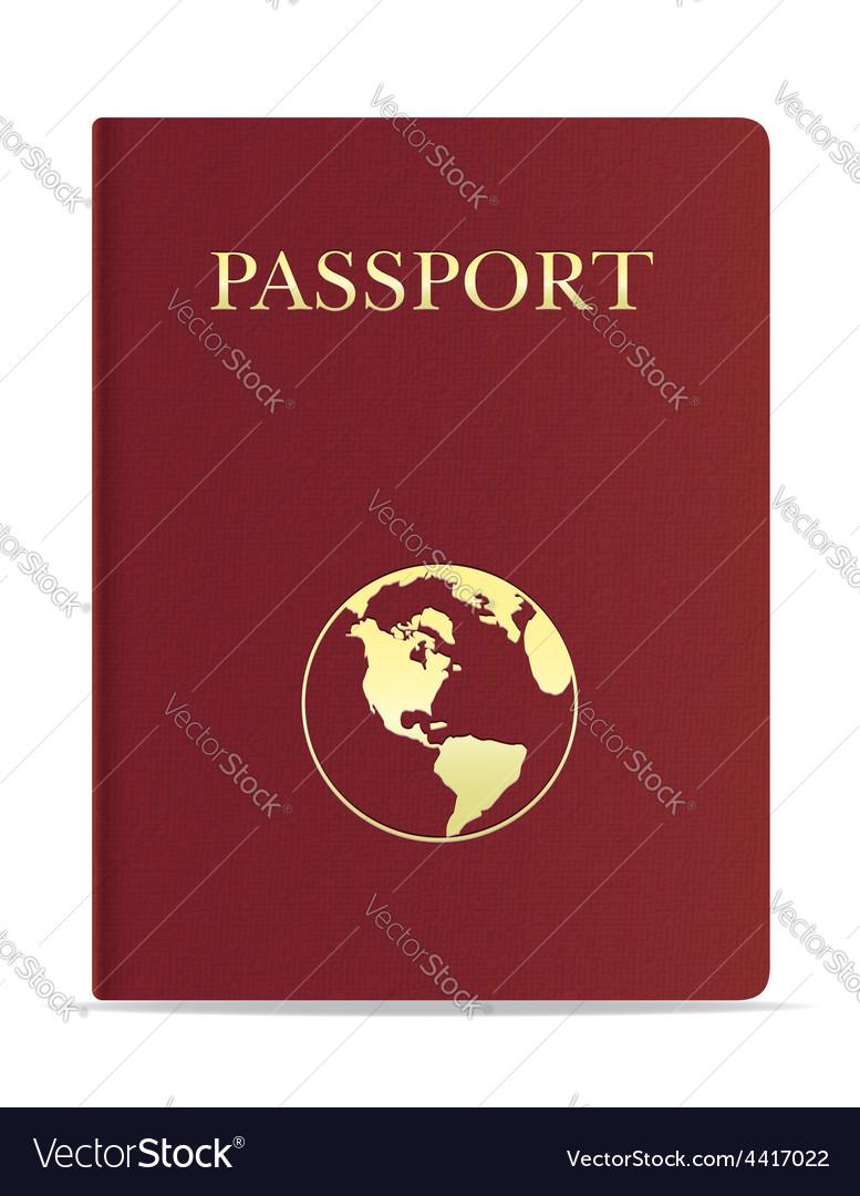 Passport 02 vector