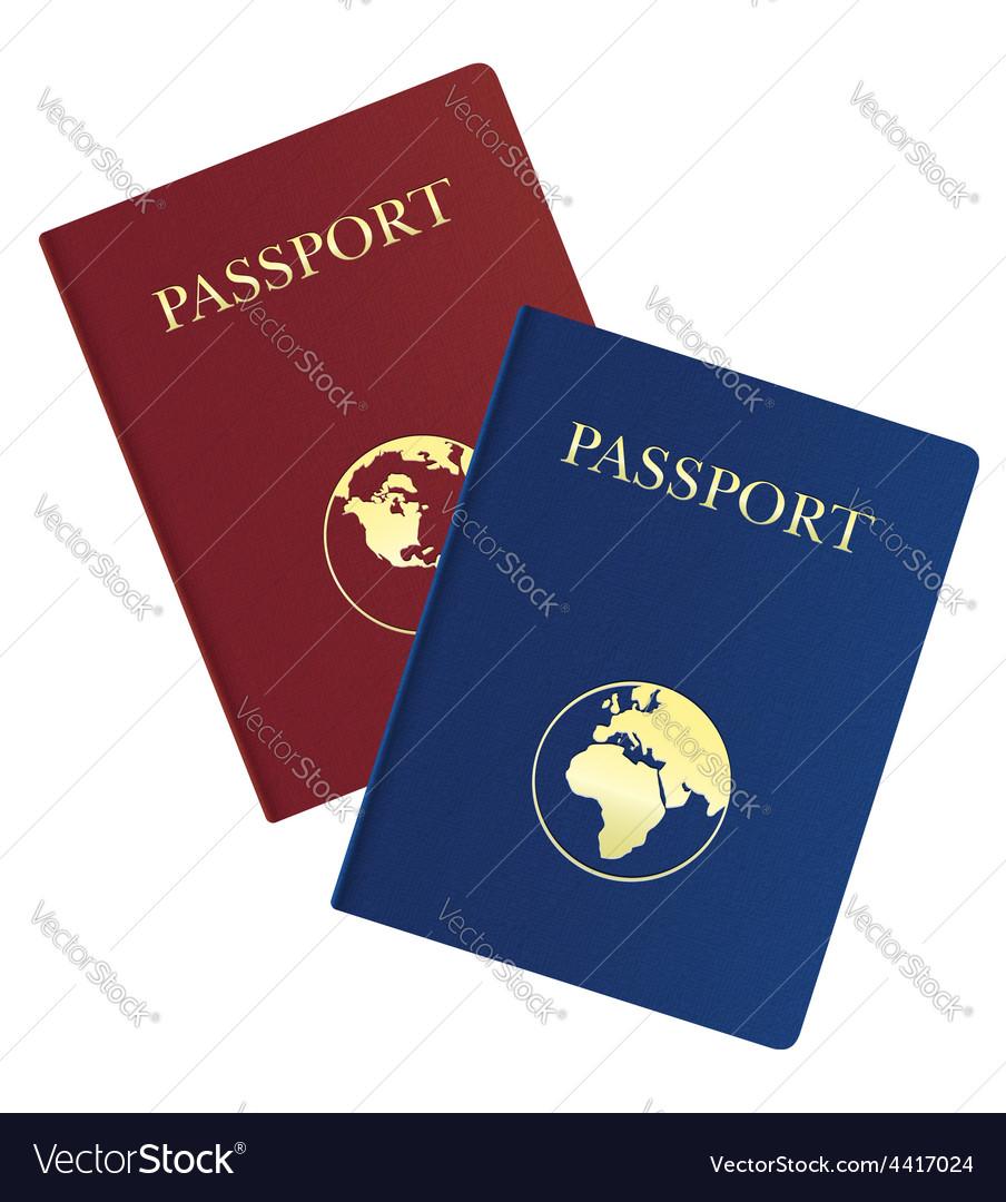 Passport 03 vector