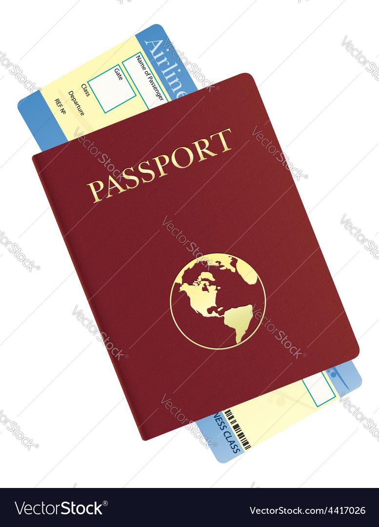 Passport 04 vector