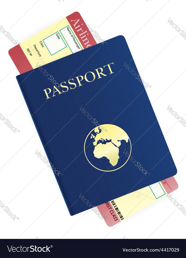 Passport 05 vector
