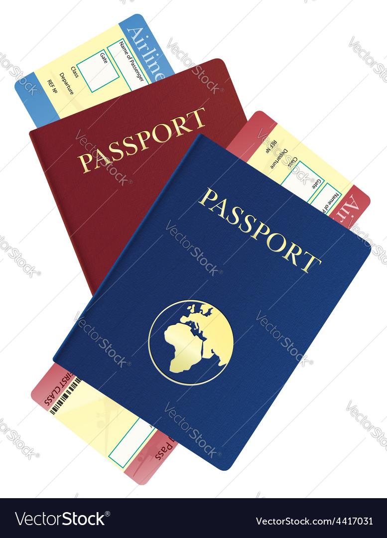 Passport 06 vector