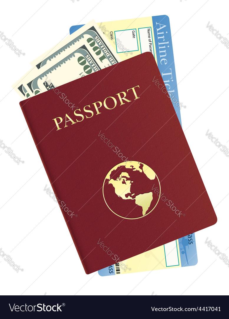 Passport 08 vector