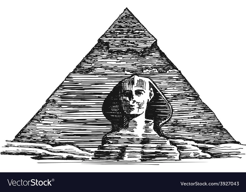 Egypt logo design template egyptian vector