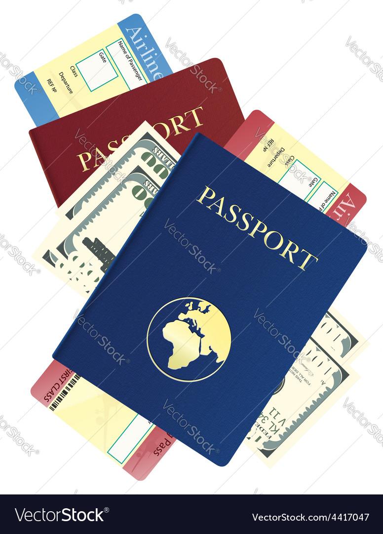 Passport 09 vector