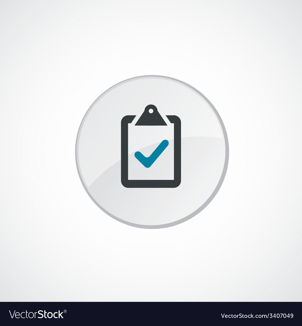 Vote icon 2 colored vector