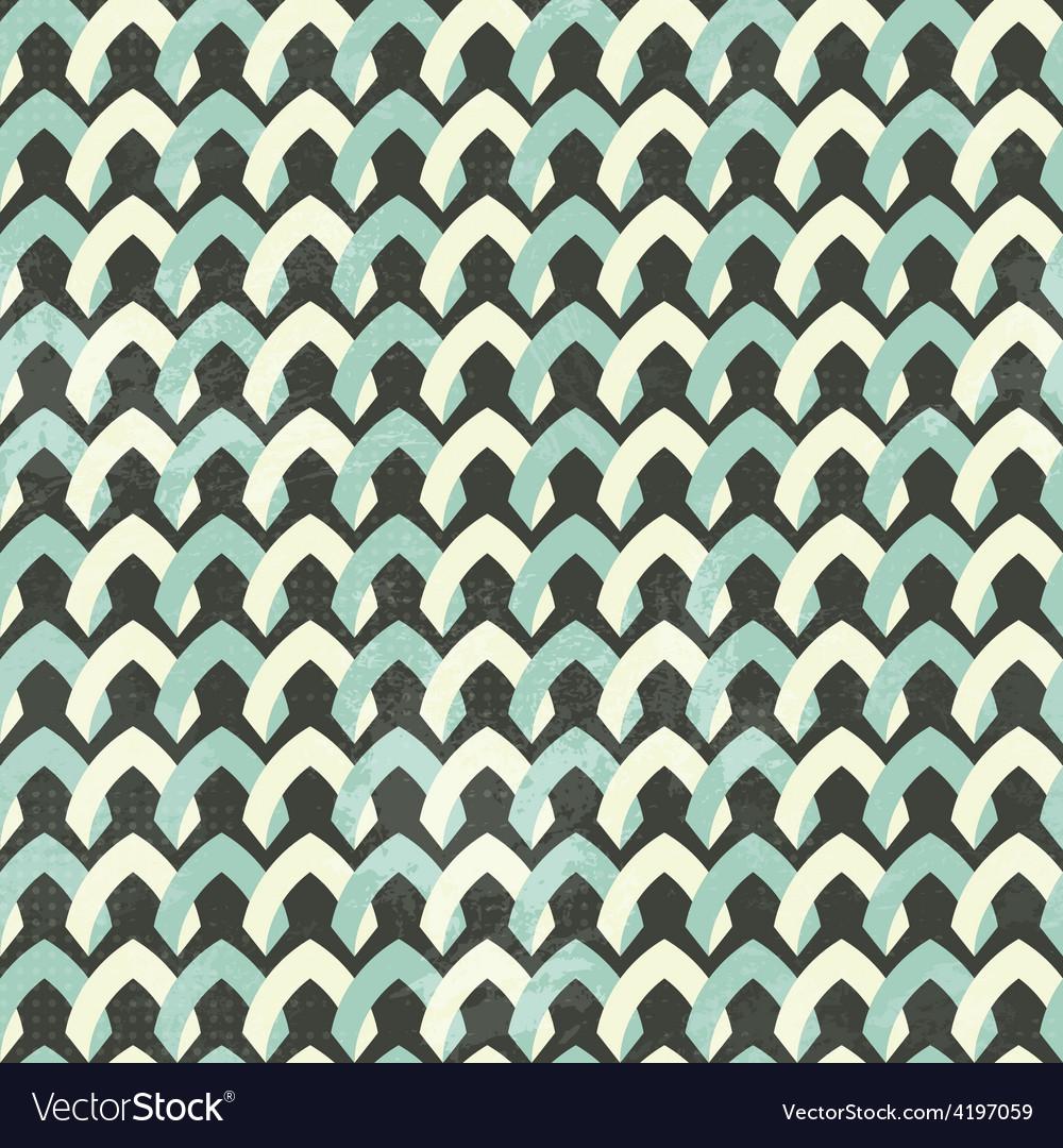 Vintage cloth seamless pattern vector