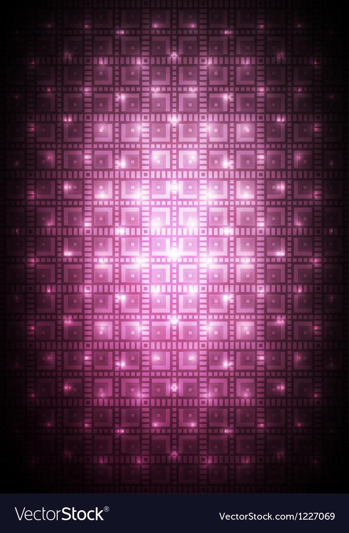 Digital pink background vector