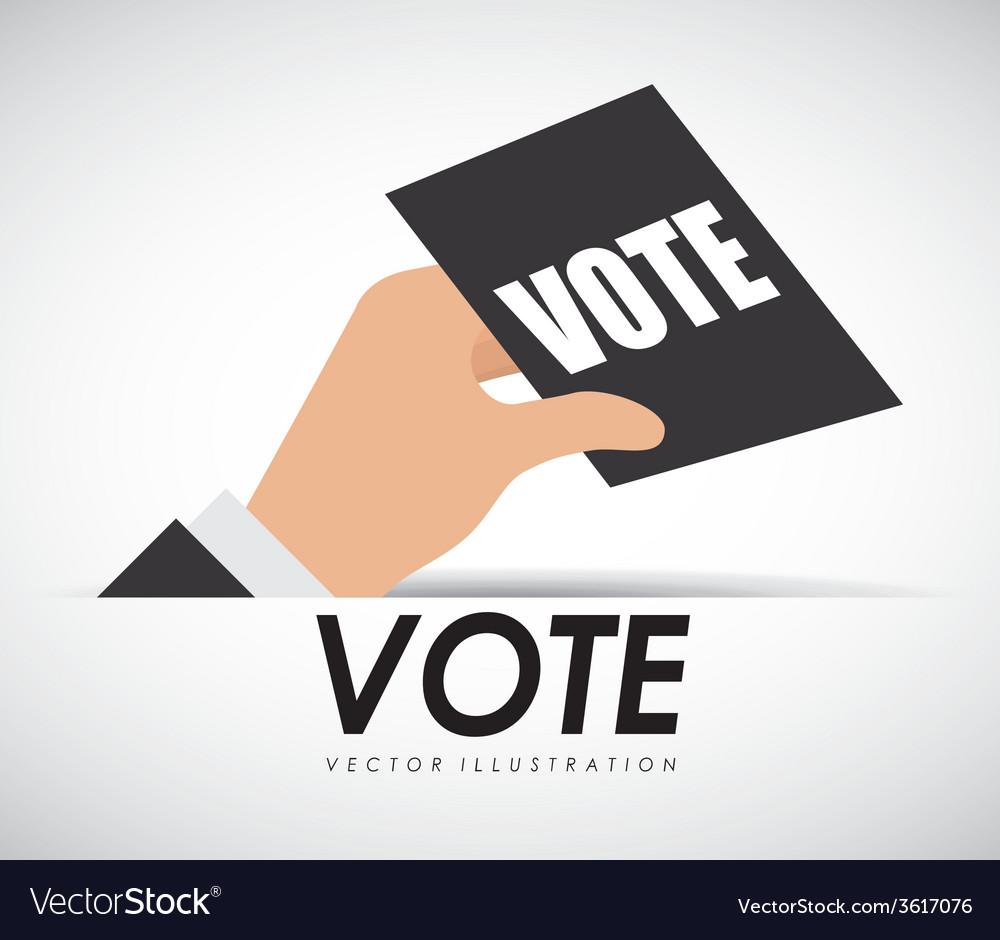 Vote ballot vector