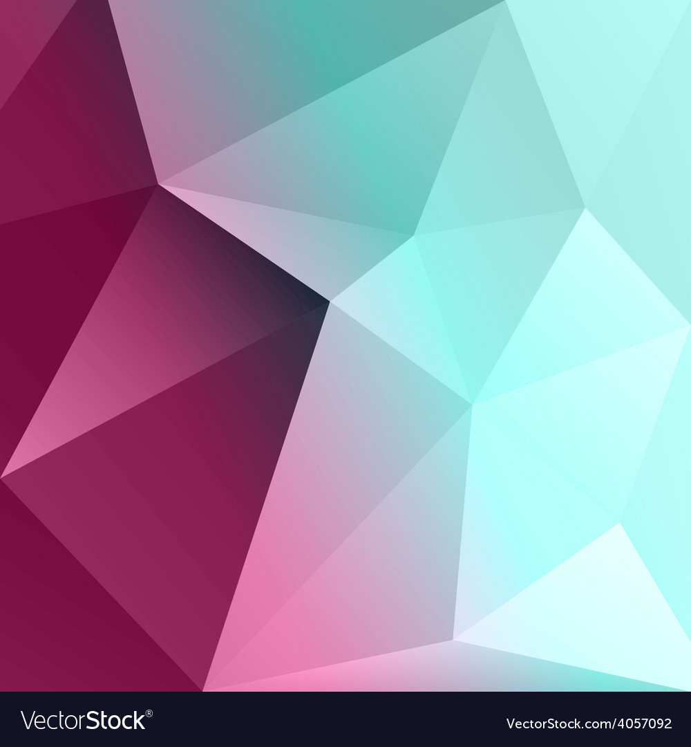 Abstract colorful geometric background template vector