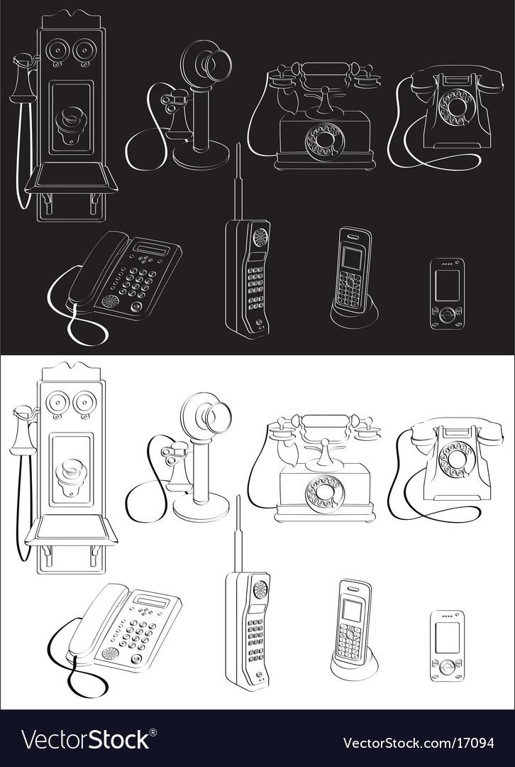 Phone evolution vector