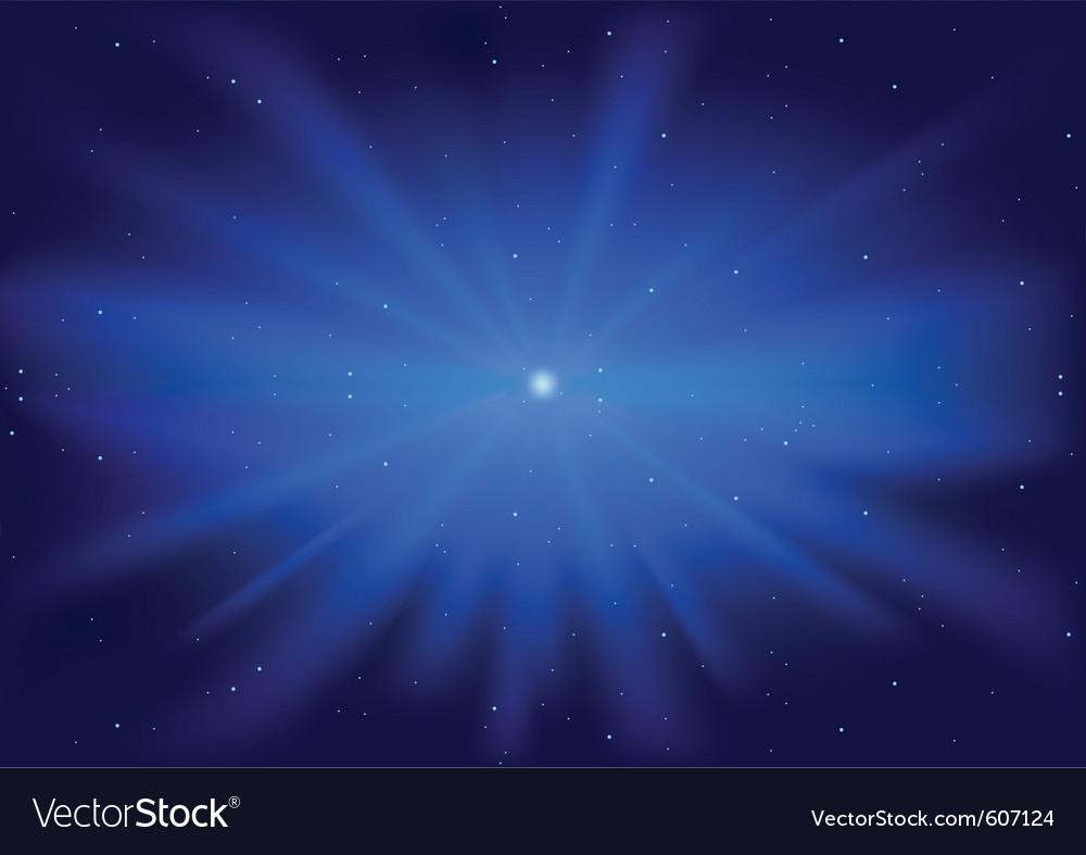 Glowing star vector