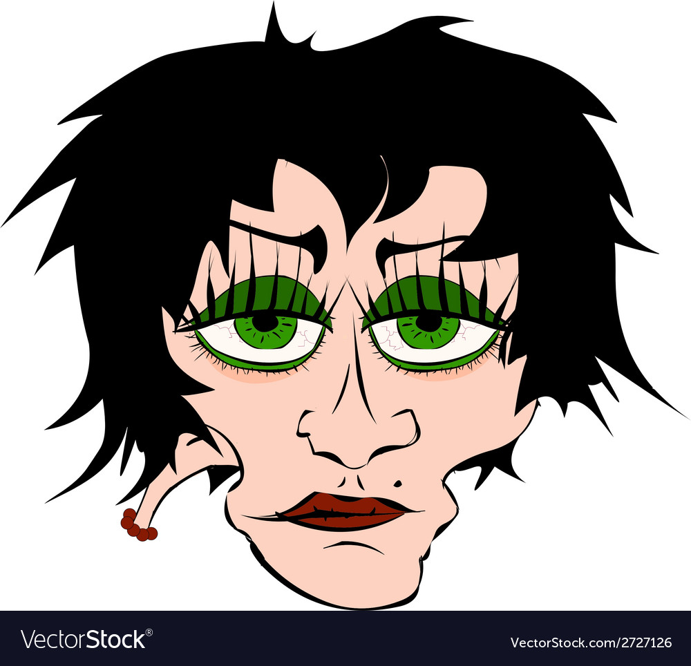 Bad girl vector