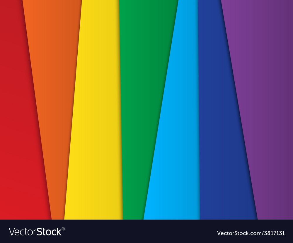 Bright abstract rainbow background vector