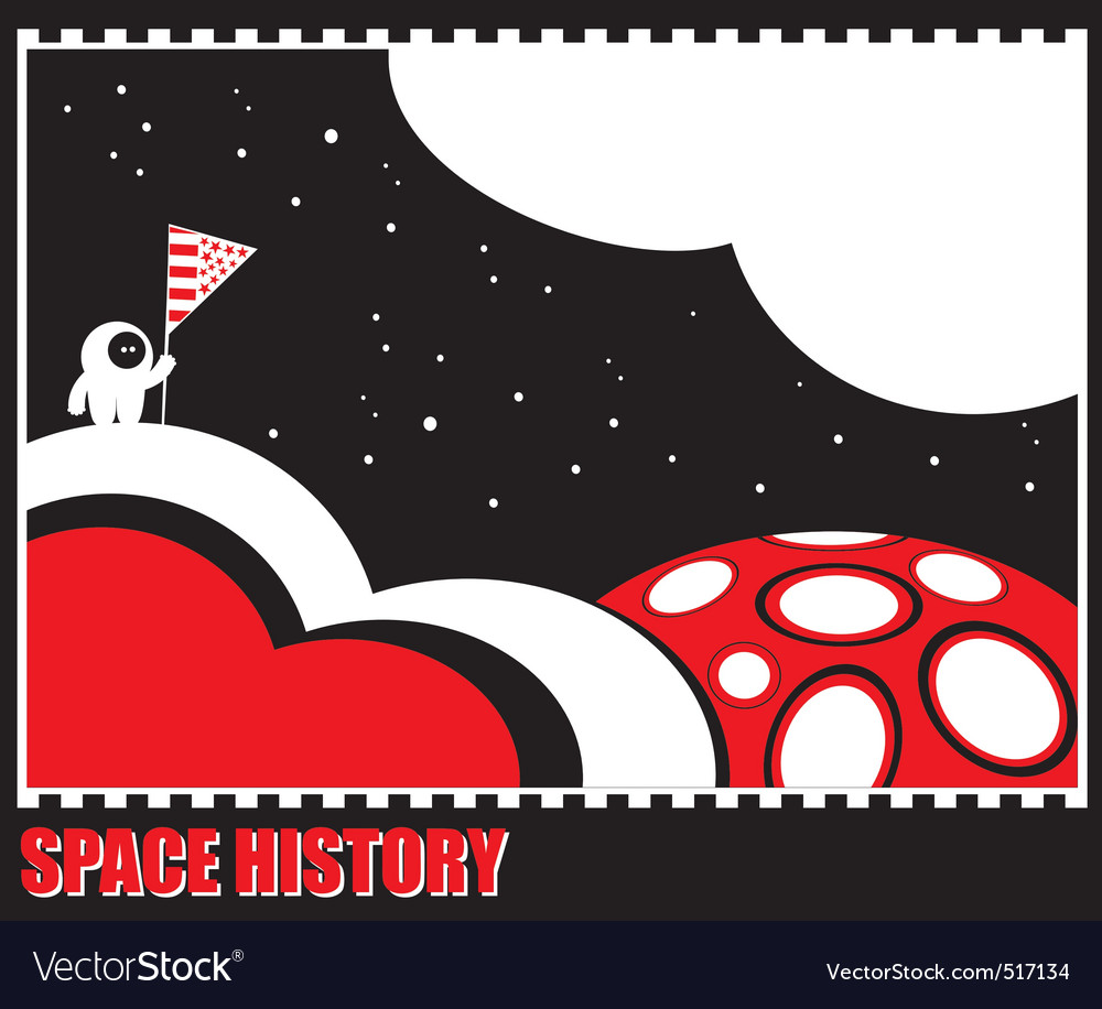 Space history vector