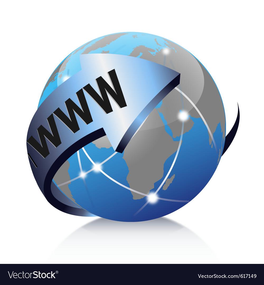 Global internet vector
