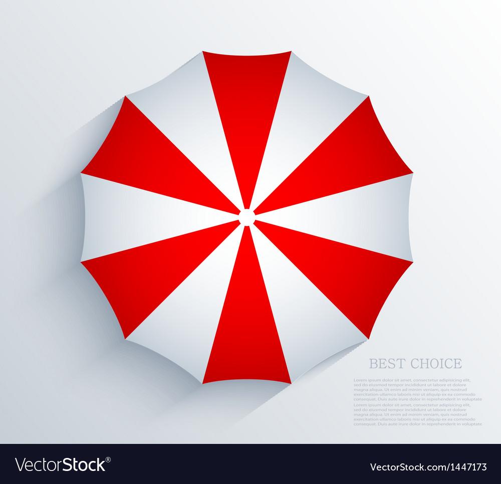 Creative umbrella background eps10 vector