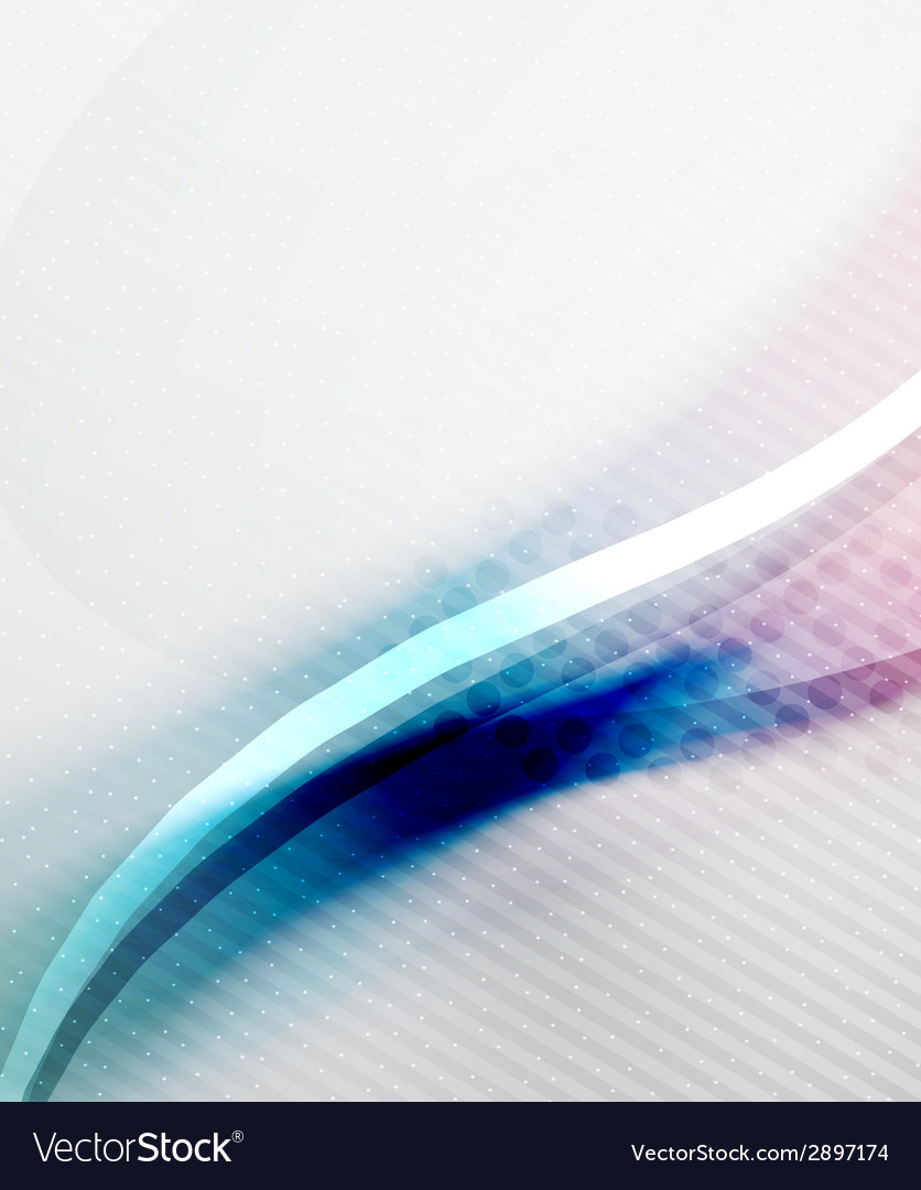 Blue and purple color wave background vector