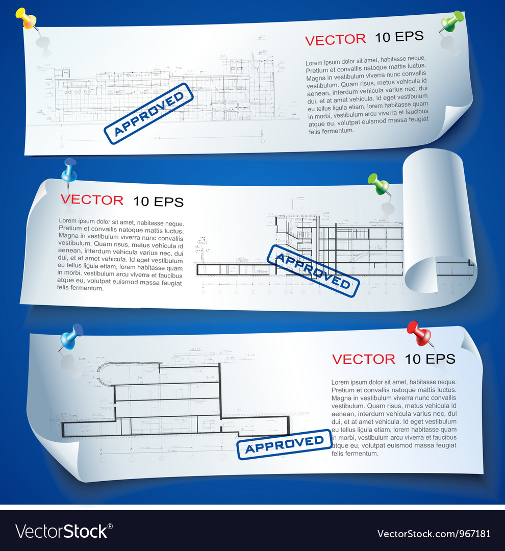 Architecture plan options vector