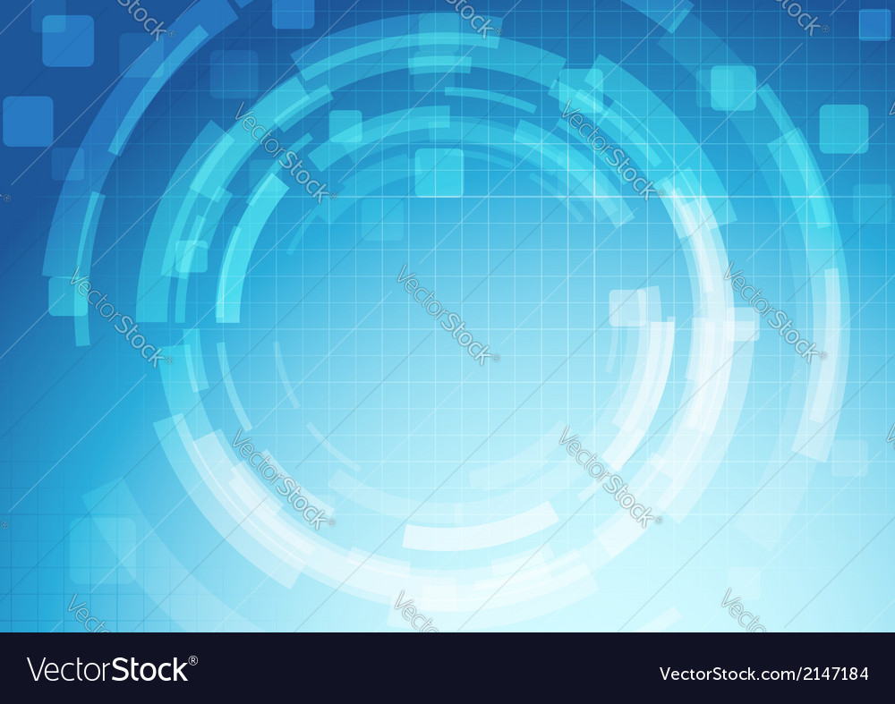 Gear abstract technology background template vector