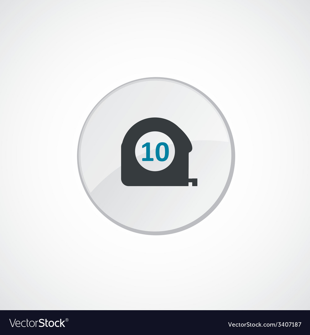 Measurement icon 2 colored vector