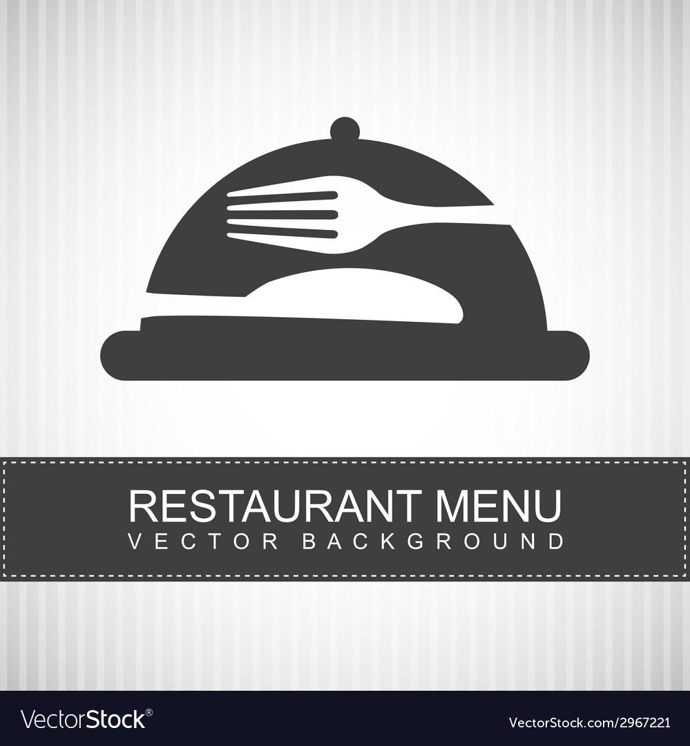 Menu design vector