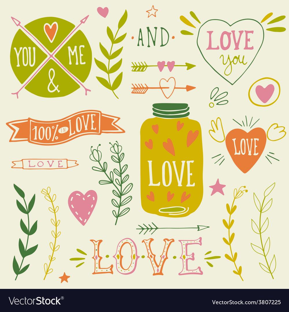 Valentines-day-design-elements-vector