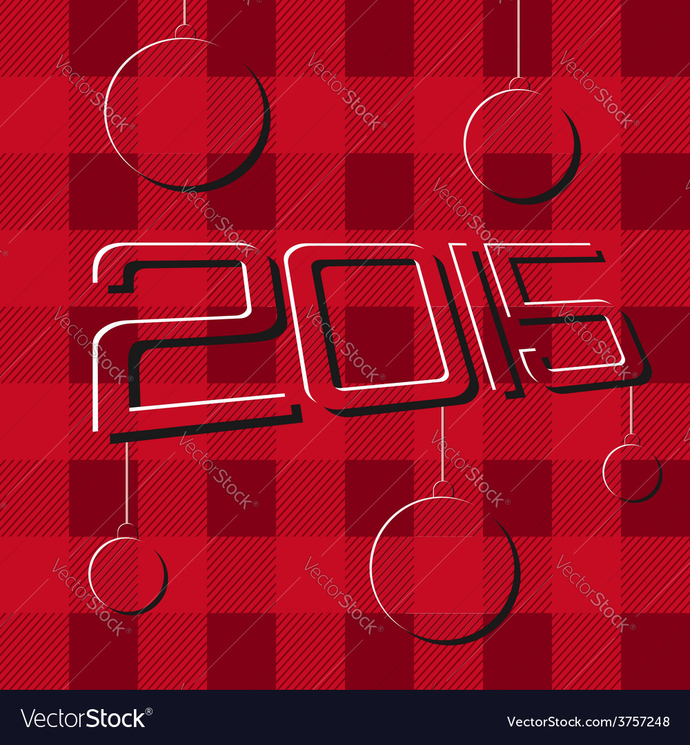 2015 merry christmas and happy new year flyers vector