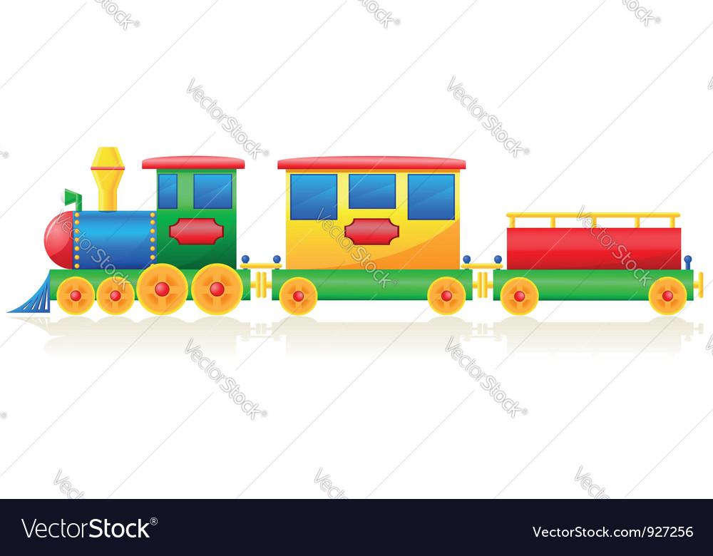 Children train vector