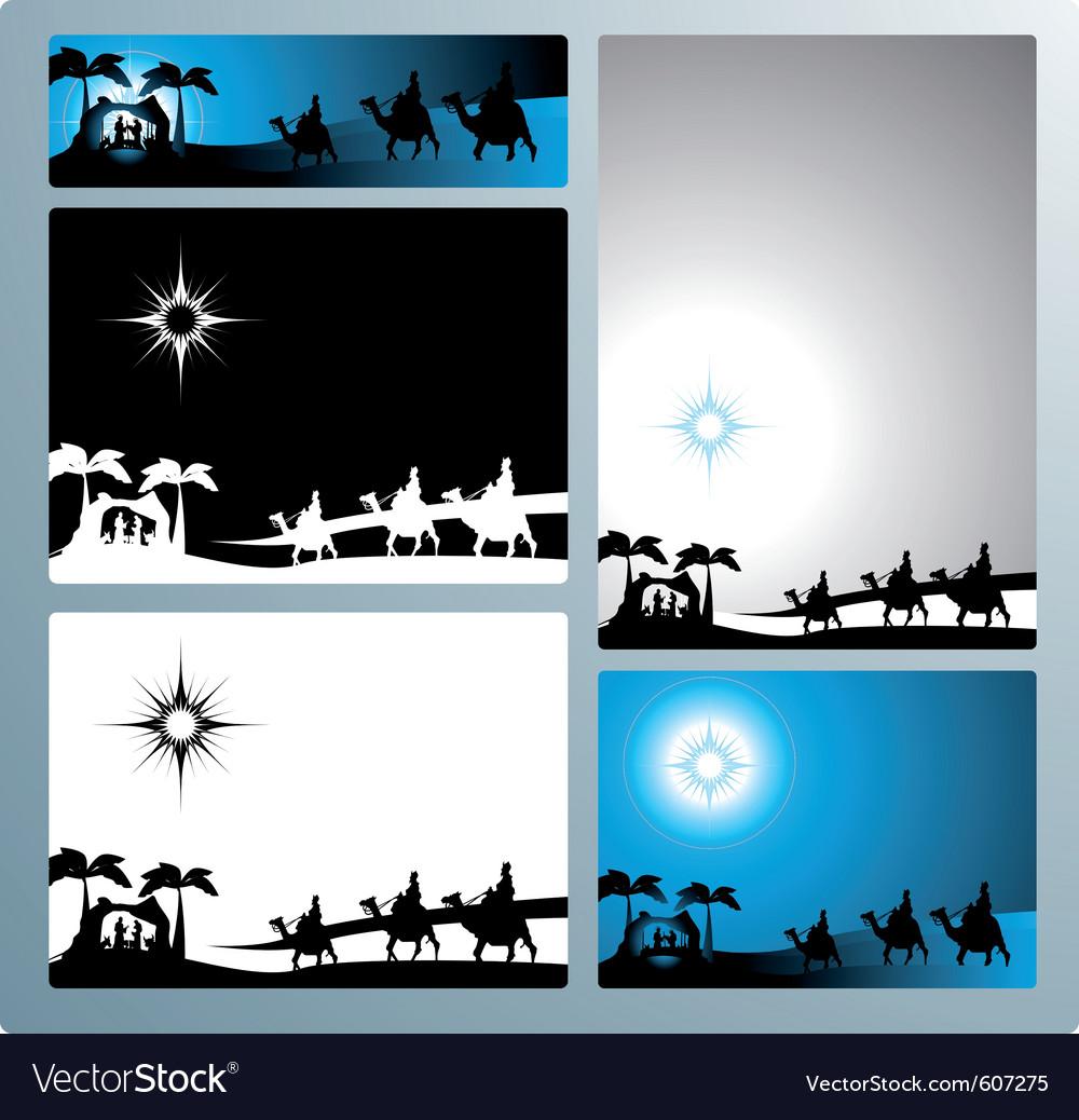 Nativity vector
