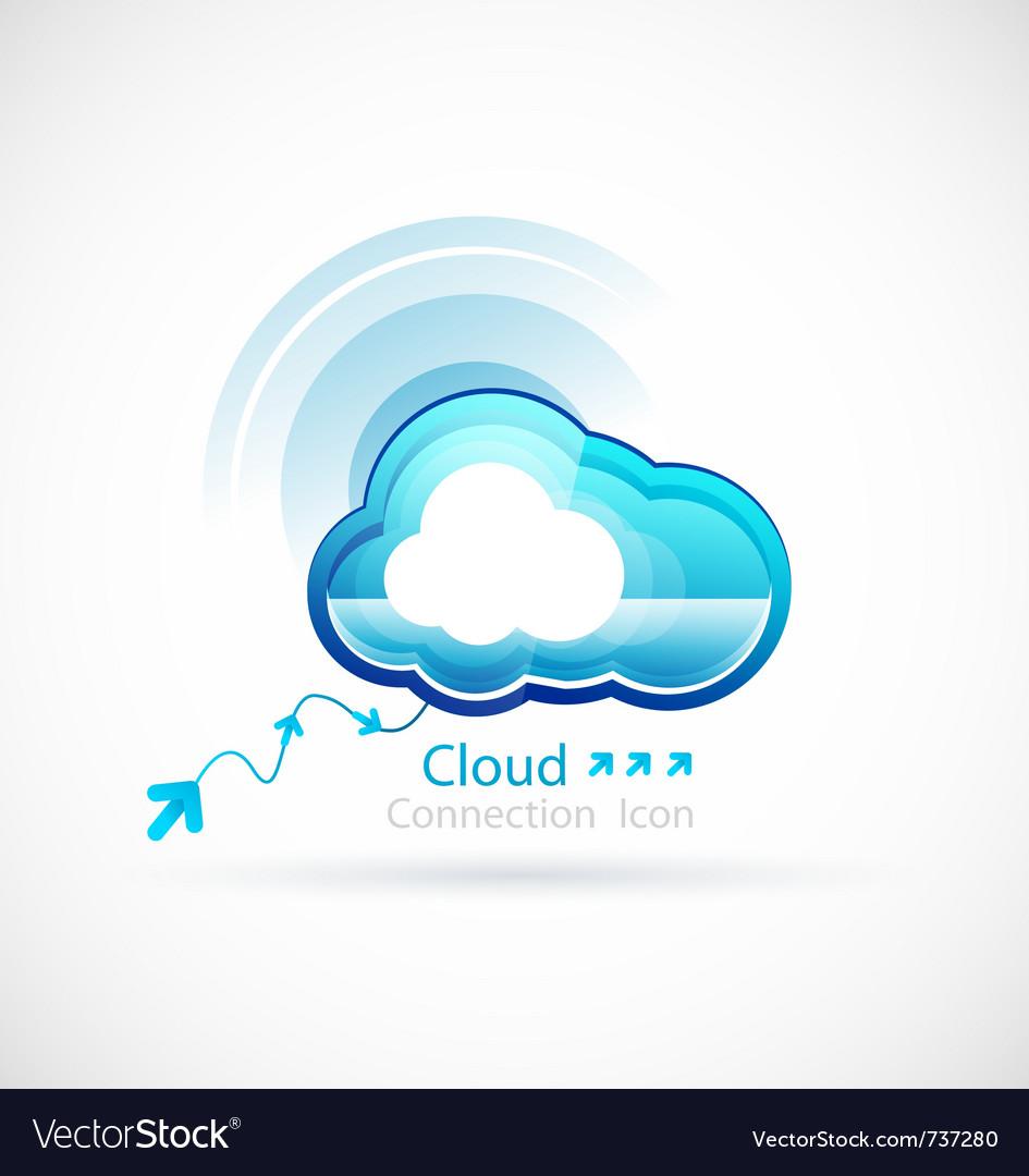 Technology cloud vector