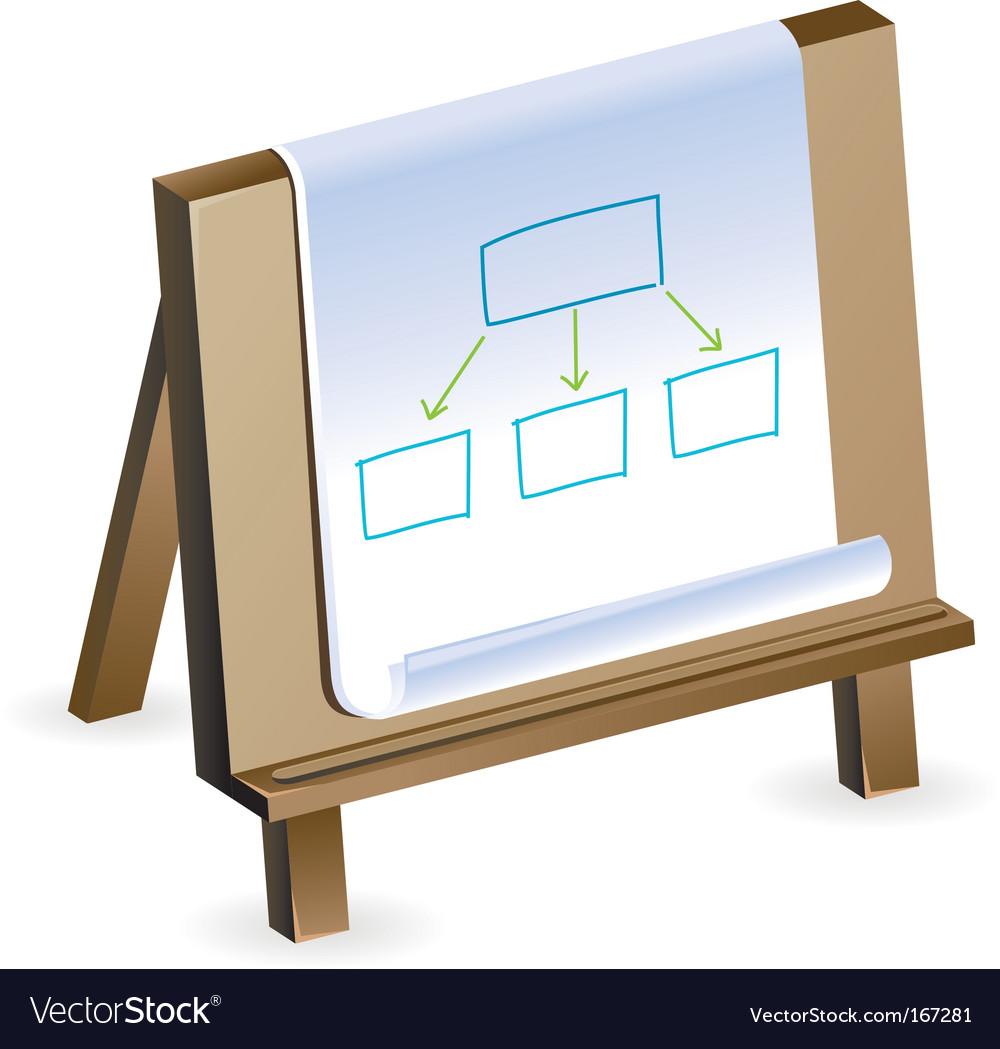 Buisness plan concept vector