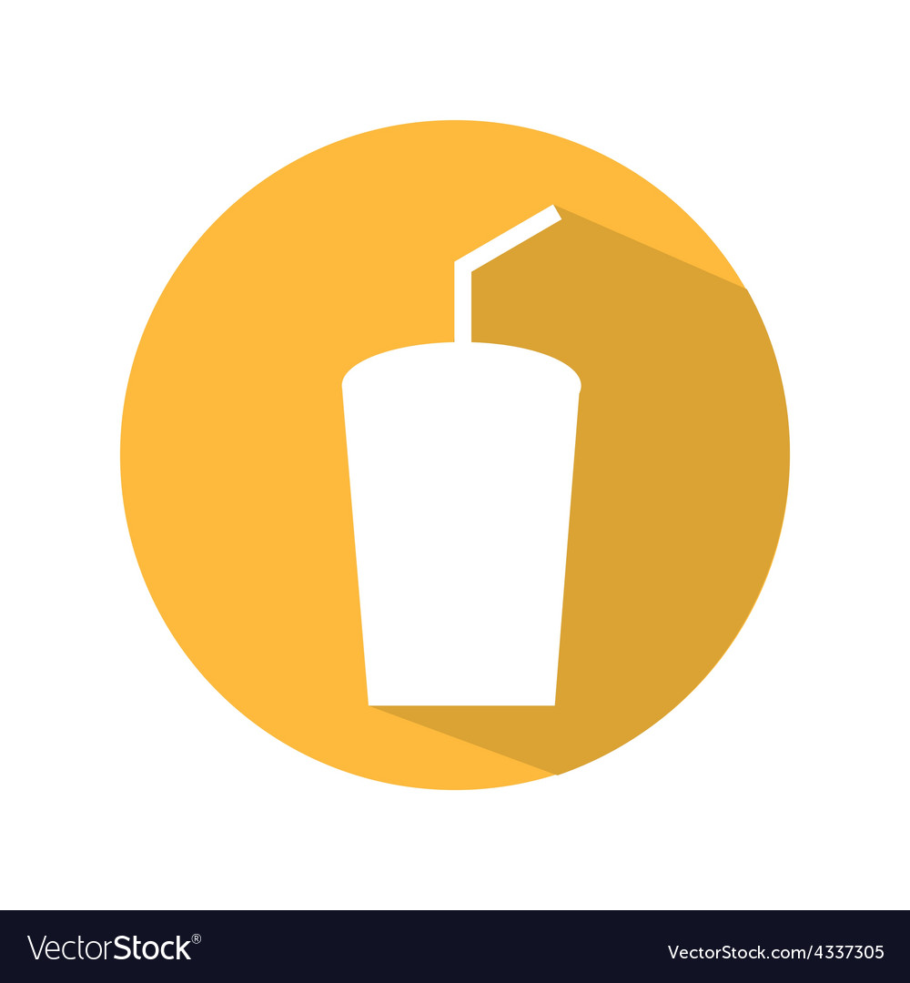 Soda icon vector