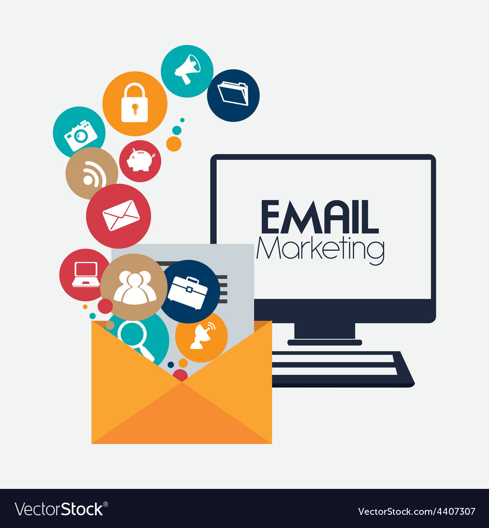 Marketing design vector