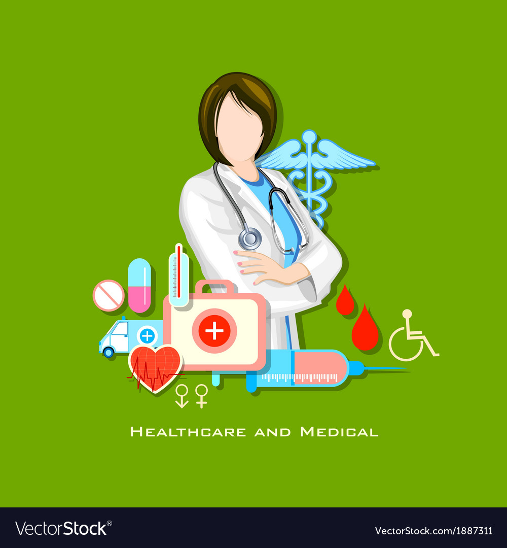 Healthcare and medical concept vector