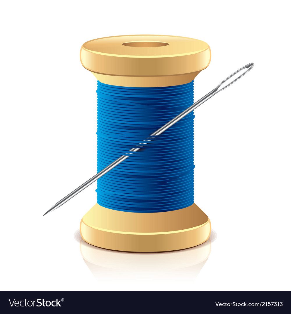Object needle and thread vector