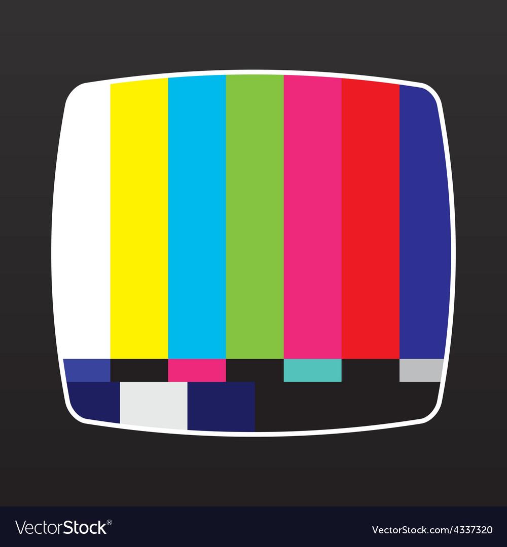 Tv no signal vector