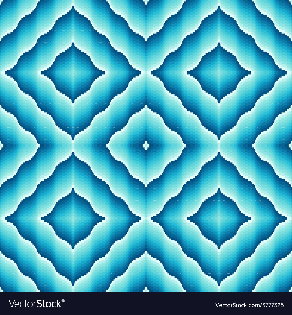 Light blue ornamental seamless pattern vector