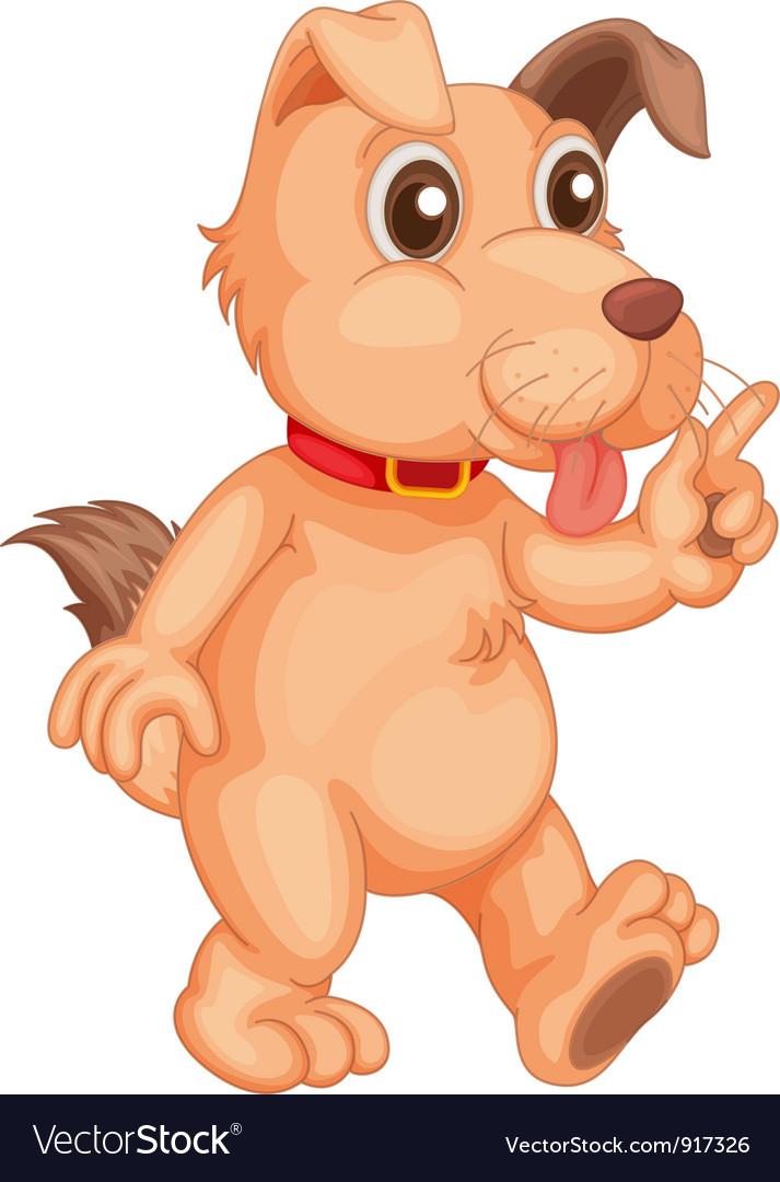 Cool dog vector