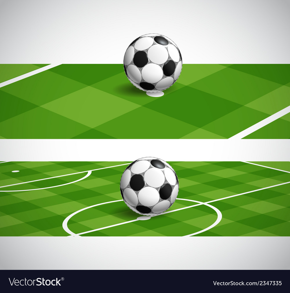 World soccer championship banners vector